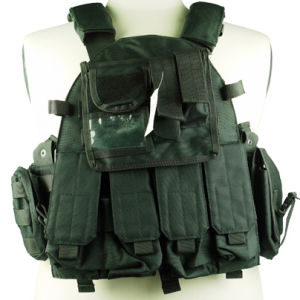 Anbison-Sports Molle Combat Strike Plate Carrier Vest pictures & photos