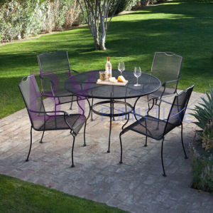 Wholesale China Manufacture Cheap Wrought Iron Patio Furniture pictures & photos