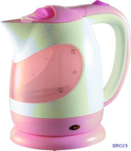Sr029 1.8L Plastic Electric Water Kettle