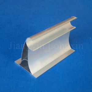 Silver Anodized Aluminium Profile for Curtain pictures & photos