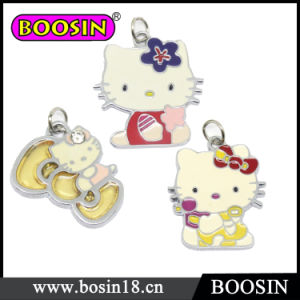 Lovely Cute Cartoon Hello Kitty Enamel Charm for Keychain pictures & photos