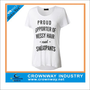 Custom Casual Short Sleeve, Loose Breathable Top for Sale pictures & photos