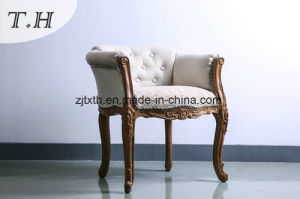Europen Style Chair by Chenille and Linen Fabric pictures & photos