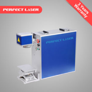 Cell Phone 10W Fiber Laser Marking Machine with Ce pictures & photos