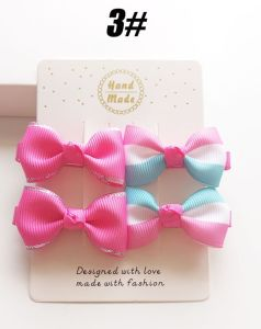 Wholesale Fashion Baby Hair Accessories Hair Pin Bowknot Hair Clip pictures & photos