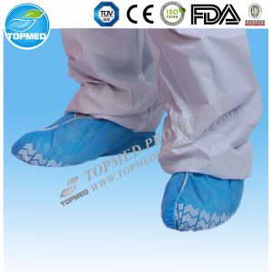 Disposable Plastic PE Shoes Cover pictures & photos