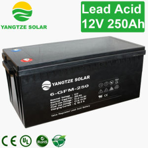 3 Years Warranty Free Shipping 250ah 12 Volt Battery for Solar System pictures & photos