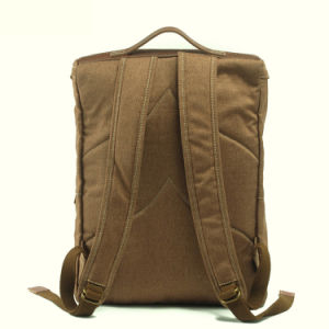 Weekend Canvas Water Resistant School Pack Bag Outdoor Day Pack Bag (RS-2118B) pictures & photos