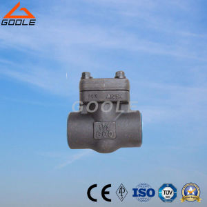 800lb/1500lb Compact Steel Swing Check Valve (GAH64H) pictures & photos