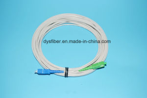 Fiber Optic Cable with Sc Fiber Optic Connector Optical Patchcord pictures & photos