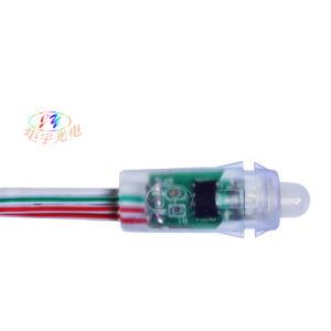 12mm/DC5V RGB Color Digital Addressable LED Pixel Light String Signboard pictures & photos