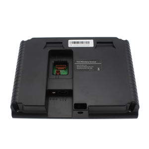 Self-Service Reprot Built-in Battery RFID Card Fingerprint Time Attendance with Access Control pictures & photos