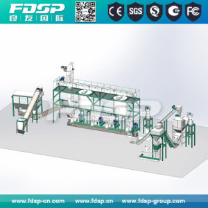 Moveable Complete Sawdust/Wood Pellet Mill Production Line pictures & photos