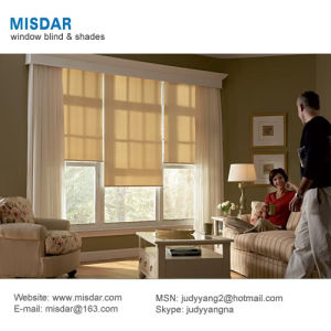 High Quality Low Price Motorized Solar Window Shades pictures & photos