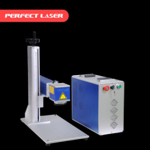 China Supply 20W/30W/50W Portable Fiber Laser Marking Machine Price for Metal pictures & photos