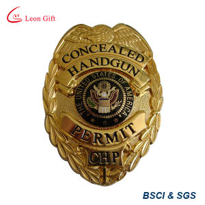 Factory Custom Quality Metal Military Police Badges for Sale pictures & photos