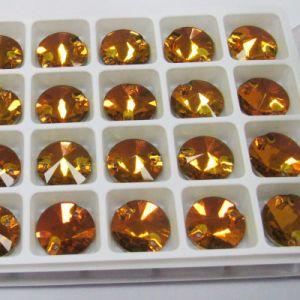 Flat Back Sew on Faceted Crystal Stone for Garment Accessory pictures & photos