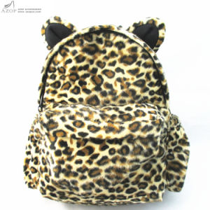 Girls Cute Leopard Print Backpack pictures & photos