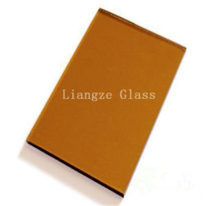 4mm Golden Bronze Tinted Glass for Decoration/Building pictures & photos