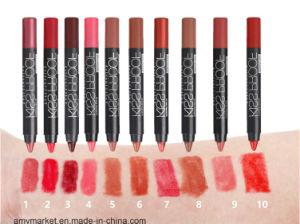 Menow Kiss Proof Soft Lipstick Popular Cosmetics Lip Stick Pen 19 Color pictures & photos
