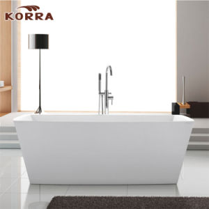 Freestanding Acrylic Bathtub with Cupc and Ce Certification (K1502) pictures & photos