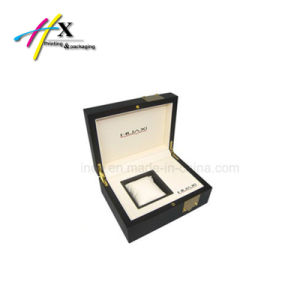 Luxury Watch Wooden Box with Cotton Lining pictures & photos