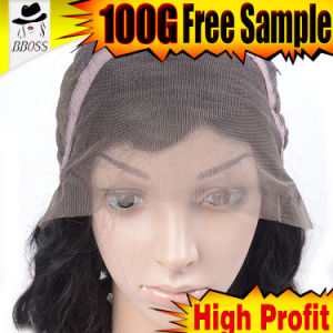 Kbl Wig Products Hot Lace Wig 100% Brazilian Human Hair Full Lace Wigs pictures & photos