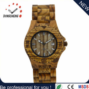 New Fashion Custom Quartz Wooden Wrist Watch for Christmas Gift pictures & photos