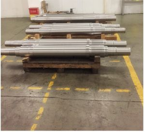 SAE8620 SAE4140 Forged Steel Linear Shaft pictures & photos