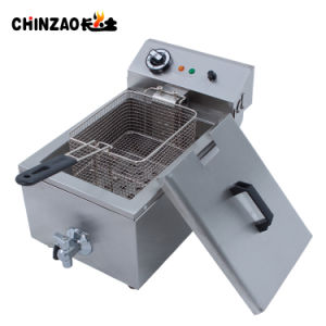 Hot 10L Electric Deep Fryer/Commercial Fryer (DZL-10L) pictures & photos