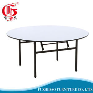 Folding Round Wedding Restaurant Hotel Banquet Table pictures & photos