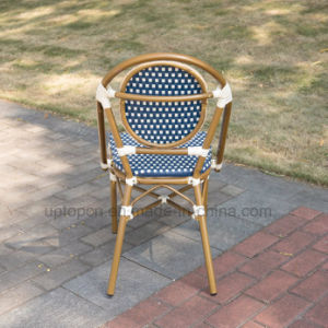 French Style Outdoor Restaurant Cafe Aluminum Rattan Chair (SP-OC443) pictures & photos