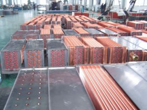 Hydrophlic Fin Copper Tube HVAC System Heat Exchanger pictures & photos
