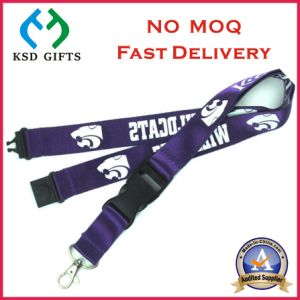 Custom Lanyards No Minimum Order with Plastic Hook (KSD-1146) pictures & photos