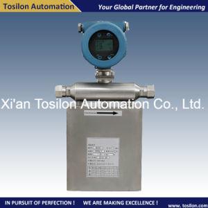 Coriolis Mass Liquid Flowmeter for Paraffin Based Crude Oil pictures & photos
