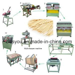 China Bamboo Toothpick Stick Making Production Machine Line pictures & photos