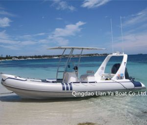 Liya 6.2m 10 Persons Rib Boat Leisure Boat for Vacation pictures & photos