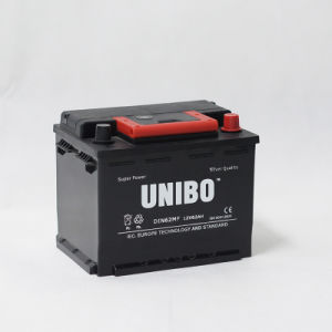 DIN62 12V62ah High Performance Maintenance Free Car Battery pictures & photos