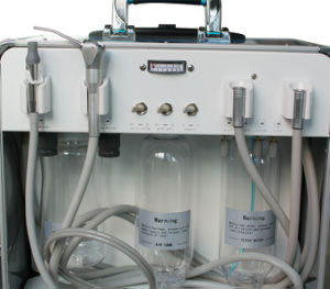 Dental Turbine Unit with Air Compressor Suction System 4h-Alisa pictures & photos