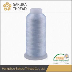 100% Polyester Filament Polyester Embroidery Thread Sakura Brand pictures & photos