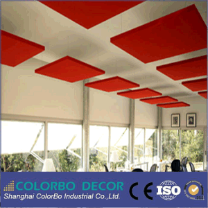 Fabric Wrapped Sound Absorption Acoustic Wall Panel for Nightclub pictures & photos