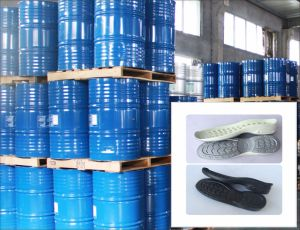 Headspring Medium-High Density PU Resin for Shoe Sole with The Upperzg-P-3450/Zg-I-7249 pictures & photos