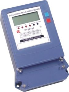 Three-Phase Electronic Multi-Rate Watt Hour Electric Energy Meter