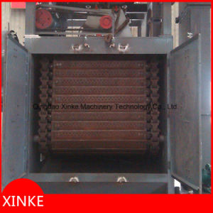 Tumblast Airless Clean Machine with Auto Loading Device Q3220 pictures & photos