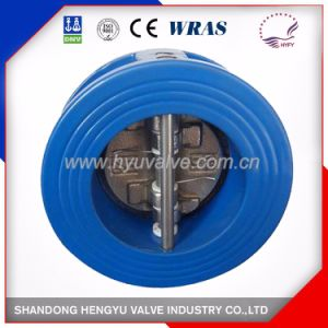 Industrial Dual Plated Check Valve with Spring pictures & photos