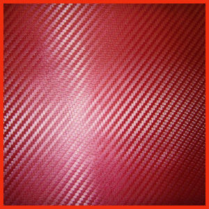 3D Red Carbon Fiber Vinyl (SCF14140) pictures & photos