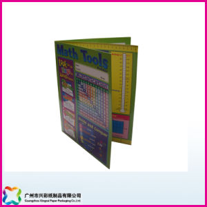 Double File Folder with Saddle Stitching Binding pictures & photos