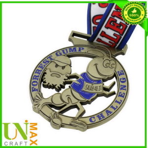 Zinc Alloy Medallion with Lanyard
