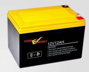 EV12 12V12ah Electrick Bike Lead Acid Starting Battery pictures & photos