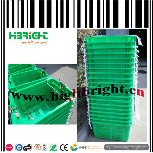 Large Plastic Vegetable Transport Crate pictures & photos